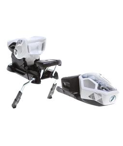 Fischer X 13 Ski Bindings White/Black