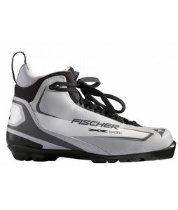 Fischer XC Sport Cross Country Ski Boots Silver