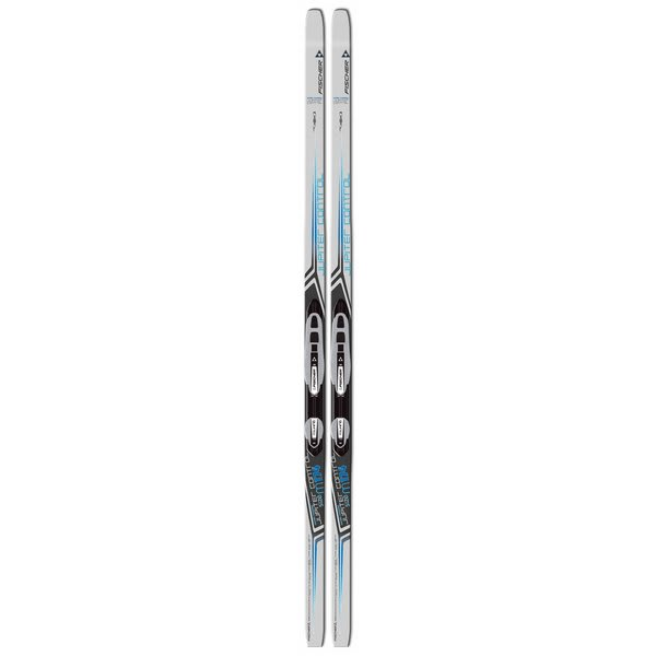 Fischer Jupiter Control Cross Country Skis w/ Auto Touring Classic Ins Silver Bindings