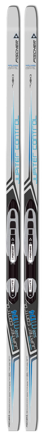 Cross Country Skis For Sale >> On Sale Fischer Jupiter Control Cross Country Skis w/ Auto Touring Classic Ins Silver Bindings ...
