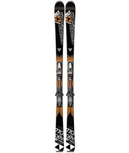 Fischer Motive 80 Powerrail Skis w/ Rsx 12 Powerrail Wide Bindings