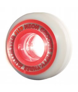 Flip Neon Grooves Skateboard Wheels Orange Flip 53mm