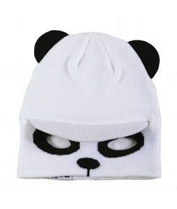 Neff Flippin' Bear Beanie White