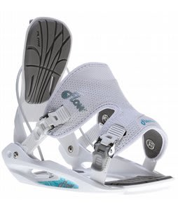 Flow Flite 2W Snowboard Bindings White
