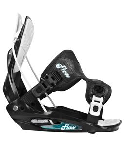 Flow Flite-2W Snowboard Bindings Black