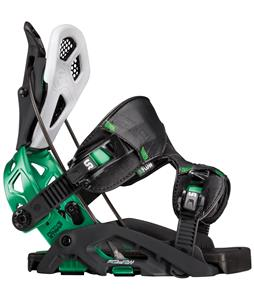 Flow Fuse-GT Snowboard Bindings Black/Green