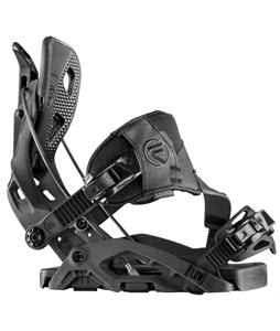 Flow Fuse Hybrid Snowboard Bindings Black