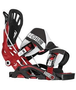 Flow Fuse-RS Snowboard Bindings Rallyred