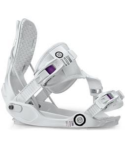 Flow Gem-SE Snowboard Bindings White