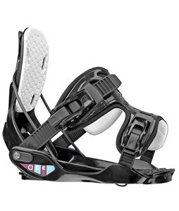 Flow Gem Snowboard Bindings Black