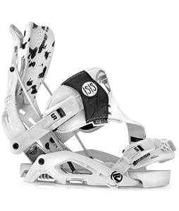 Flow Isis-SE Snowboard Bindings White