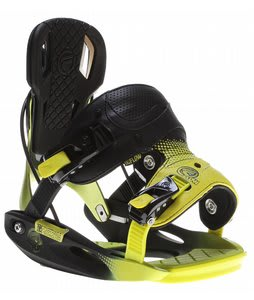 Flow M9 Snowboard Bindings Black/Lime
