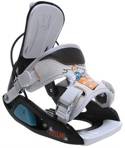Flow Micron Snowboard Bindings Black/White
