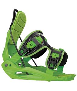 Flow Micron Kid's Snowboard Bindings Green