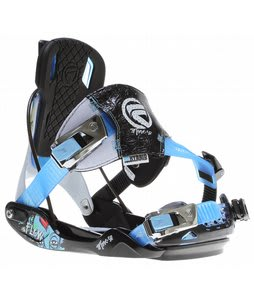 Flow Minx SE Snowboard Bindings Black/Blue
