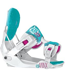 Flow Minx Snowboard Bindings White