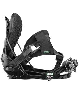 Flow Minx Hybrid Snowboard Bindings Black