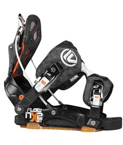 Flow NX2-AT Snowboard Bindings Black/Orange