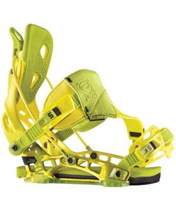 Flow NX2 Hybrid Snowboard Bindings Lime