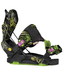Flow NX2-SE Snowboard Bindings Blacklight