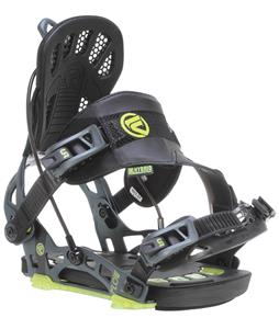 Flow NX2-GT Snowboard Bindings Stealth Black