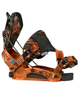 Flow NX2-SE Snowboard Bindings Black/Orange