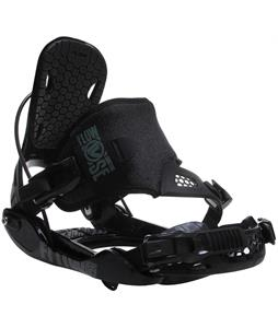 Flow Quattro-SE Snowboard Bindings Black