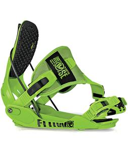 Flow Quattro-SE Snowboard Bindings Green