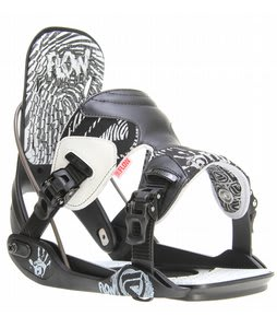 Flow The Five Snowboard Bindings Black