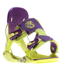 Flow The Five Snowboard Bindings Toxic