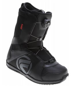 Flow Vega BOA Snowboard Boots Black/Black