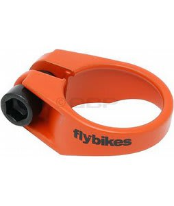 Flybikes Seat Clamp Flat Orange 28.6mm