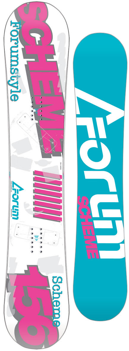 Shop for Forum Scheme Snowboard 156 - Men's