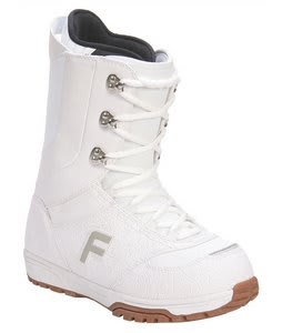 Forum Destroyer Snowboard Boots White/Gum