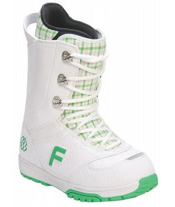 Forum Destroyer Snowboard Boots White/Sb Pattern