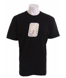 Forum Foil Icon T-Shirt Black