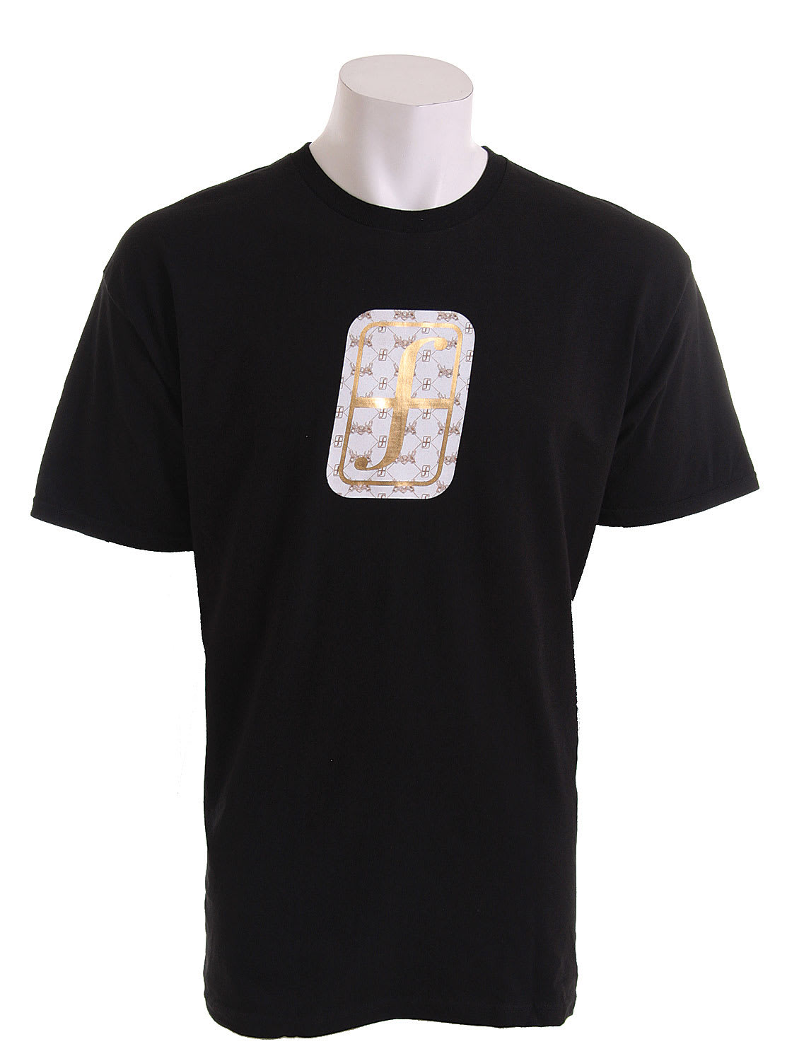 Shop for Forum Foil Icon T-Shirt Black - Men's