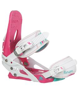 Forum Habit Snowboard Bindings Neon Pink