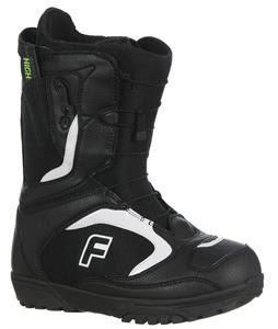 Forum League SLR Snowboard Boots Black/White