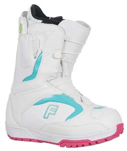 Forum League SLR Snowboard Boots White/Teal