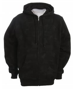 Forum Snowpark Zip Hoodie Black Snow Park