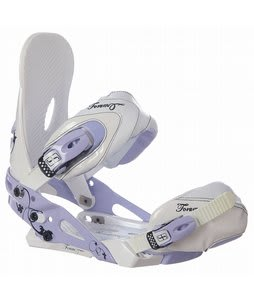 Forum VSP Snowboard Bindings White