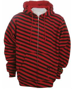 Forum Waldo Full Zip Custom Hoodie Red