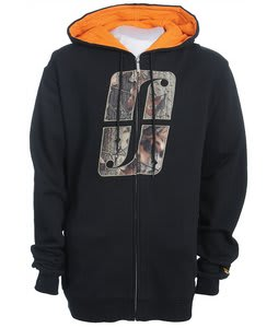 Forum Woodland Icon Full Zip Hoodie Black