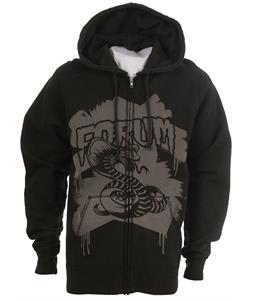 Forum Youngblood Full Zip Custom Hoodie Black