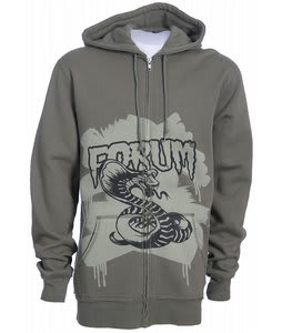 Forum Youngblood Full Zip Custom Hoodie Olive