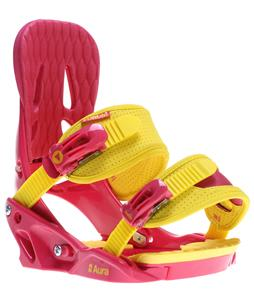 Forum Aura Snowboard Bindings Pink Lemonade