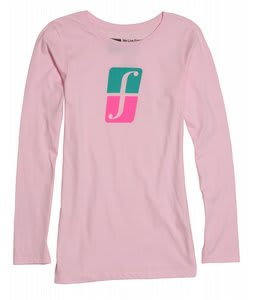 Forum Corp Icon L/S T-Shirt Pink Light District