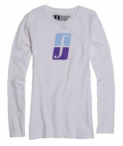 Forum Corp Icon L/S T-Shirt Yayo White