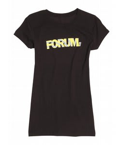 Forum Corp Wind Up T-Shirt Black To The Future